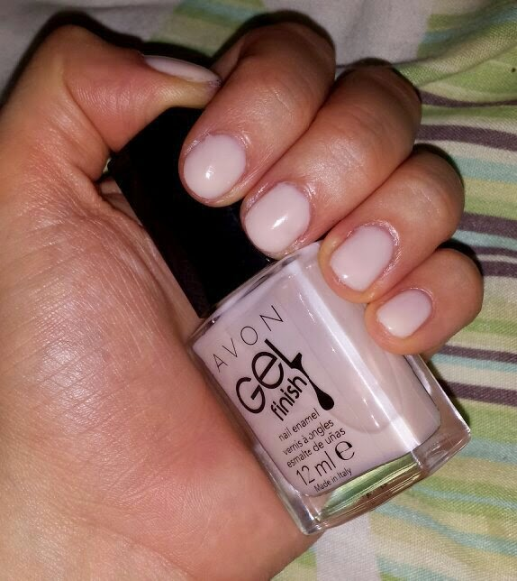Avon Gel Finish Nail Polish Creme Brulee