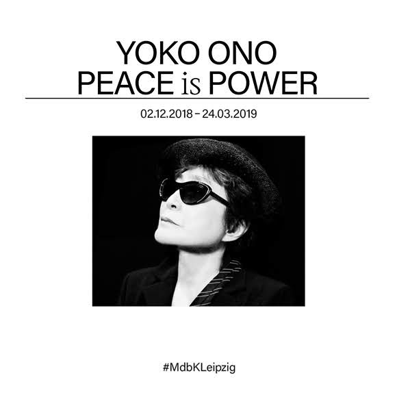Yoko Ono présente l'exposition «Peace is Power» à Leipzig