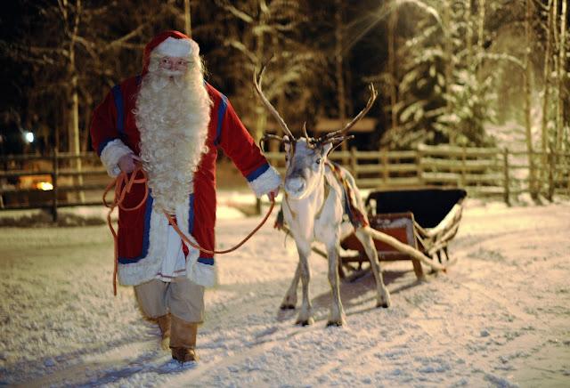 christmas Rovaniemi Lapland santa claus