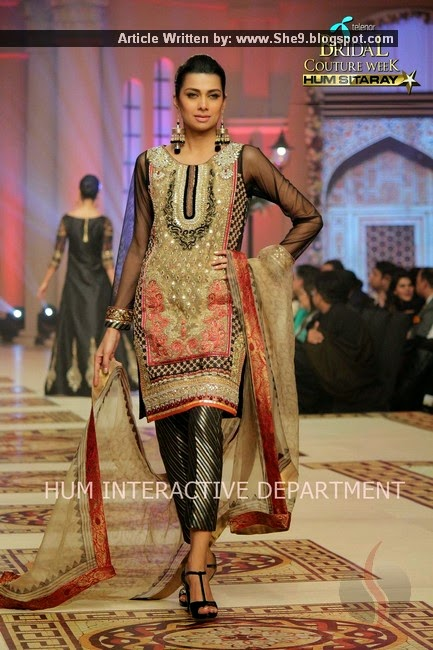 748889a578 Asifa Nabeel Designer Collection for Brides and Groom at TBCW-2014 ...