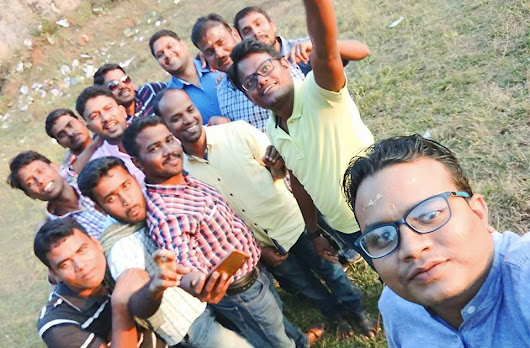 After 16 years of school life, School Friends Get-together on 14/01/2018 for a picnic