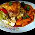 Sautee de morcov cu carne de pui
