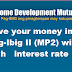 Save your money in Pag-Ibig II (MP2) with high interest rate
