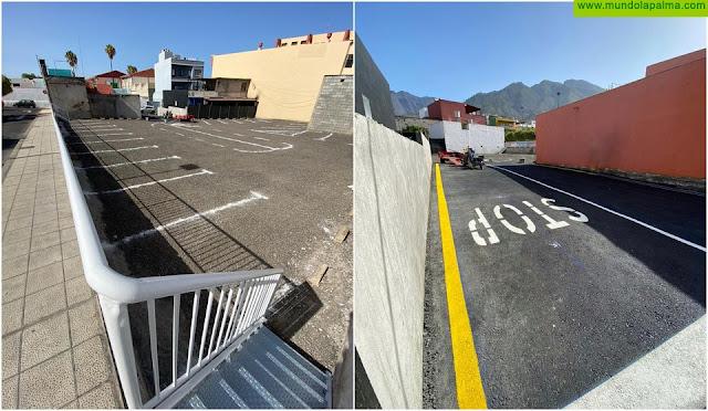 El Ayuntamiento de Los Llanos de Aridane ofrece 30 nuevas plazas de aparcamiento público y gratuito