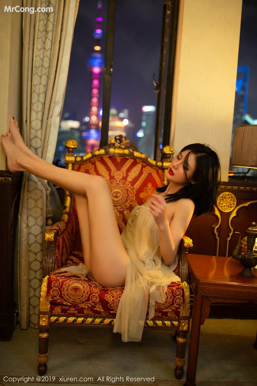 Image XIUREN-No.1668-Jiu-Shi-A-Zhu-A-MrCong.com-004 in post XIUREN No.1668: Jiu Shi A Zhu A (就是阿朱啊) (67 ảnh)