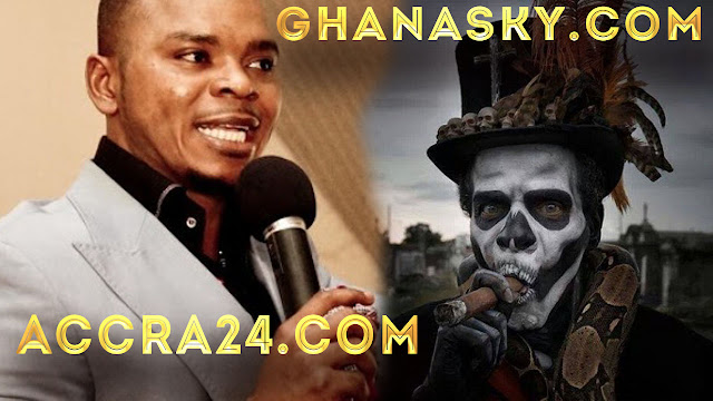 [Video] Bishop Daniel Obinim Exposed By Fetish Priest, His Father.