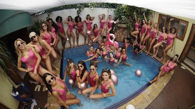 Pool party das bailarinas do Faustão