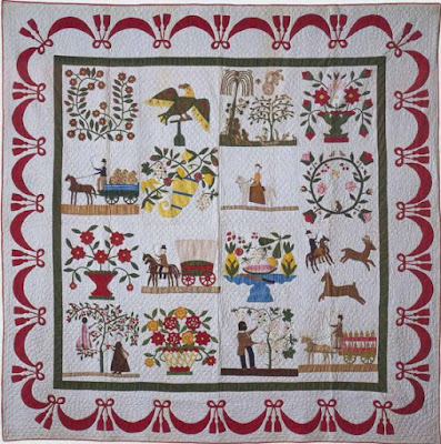 Album Quilt Katherine Cox Williams