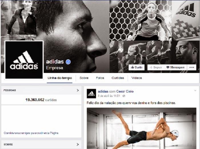 e5f0244ec8d Empresa tem como meta ousada que pelo menos 30% de conteúdo seja produzido  pelos usuários. A Adidas pretende dobrar ...
