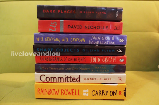 26th Doha International Bookfair Haul - LIVE, LOVE & LOU