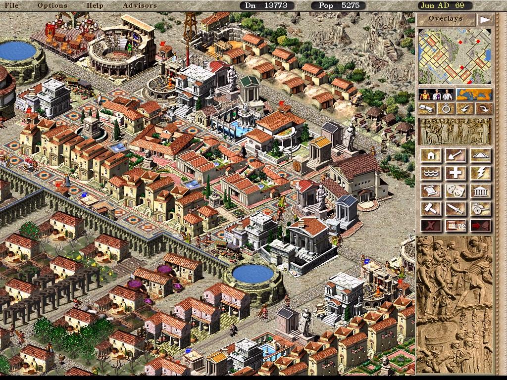 Keonaxovy hry: Retro: Caesar 3