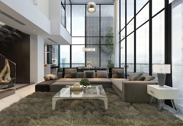 Không gian căn hộ chung cư An Bình Plaza Trần Bình