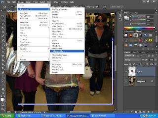 cara membuat baju foto menadi transparan