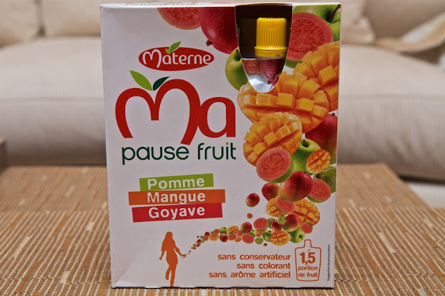 Materne - Compote - Dessert - Mangue - Goyave - Exotique - Exotic - Ma Pause Fruit Materne - Gourde
