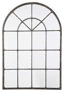 farmhouse arched mirror