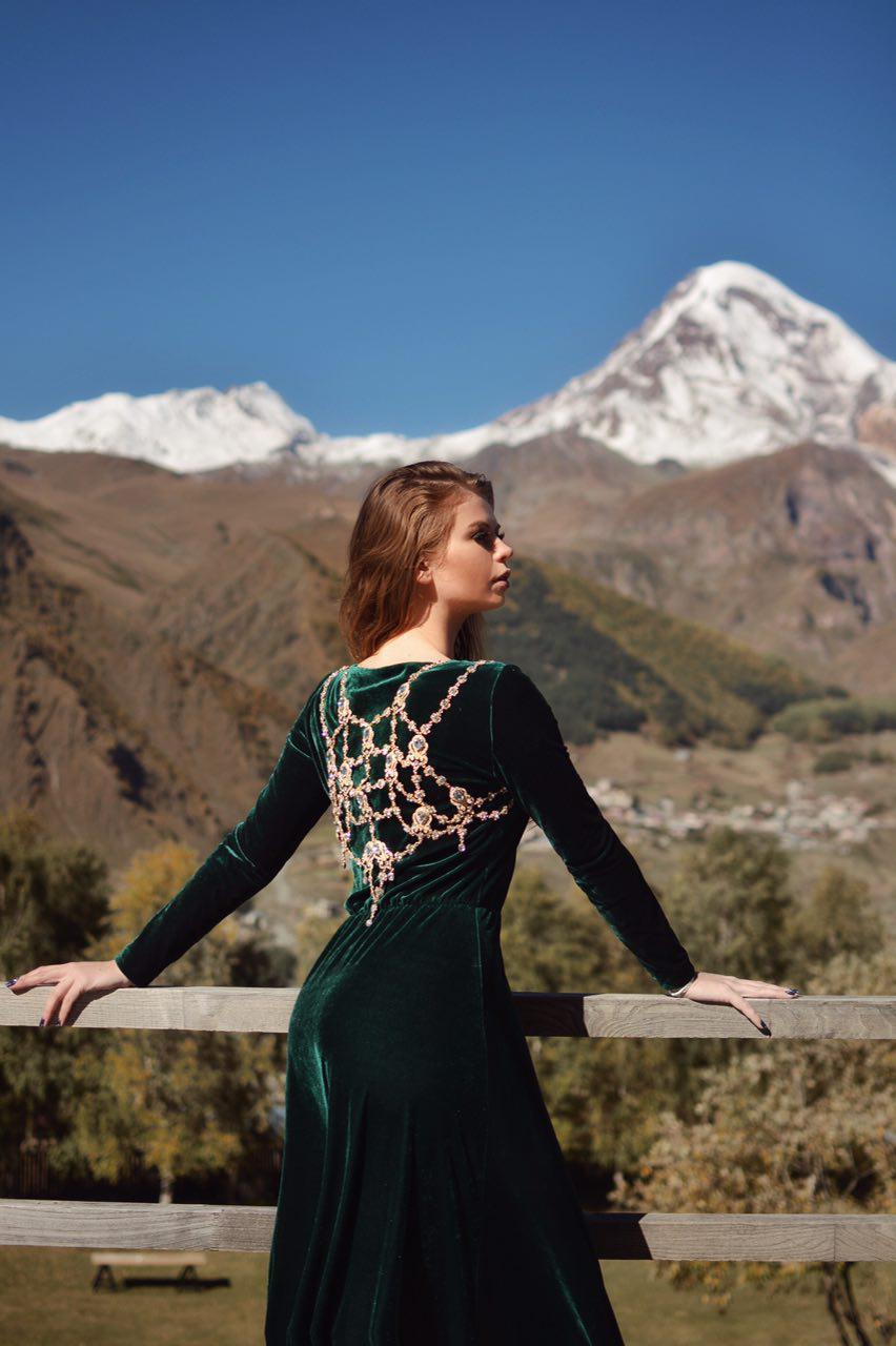 My Dress Stories в Грузии, фотосессии в платьях во время путешествий