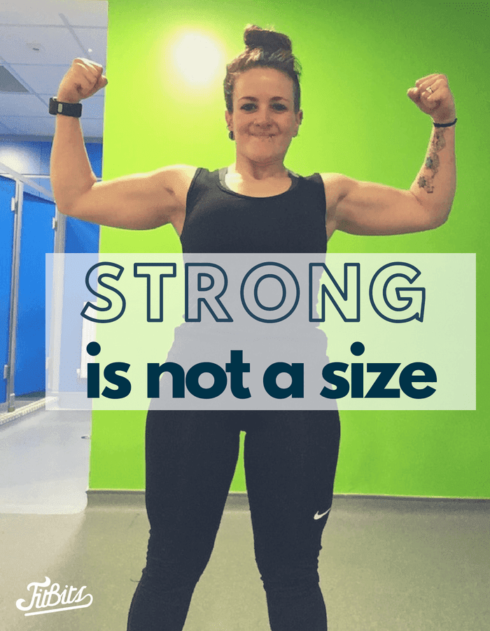Strong is not a size - this girl can Tess Agnew fitness blogger