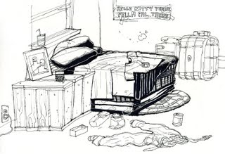 Explanation of Messy Room by Shel Silverstein