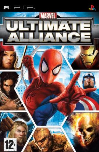 t12751.marvel ultimate alliance v2 engusaplayasia - Marvel Ultimate Alliance v2 [ENG][USA] PSP