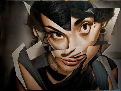 Pintura hiperrealista de Victor Rodriguez.