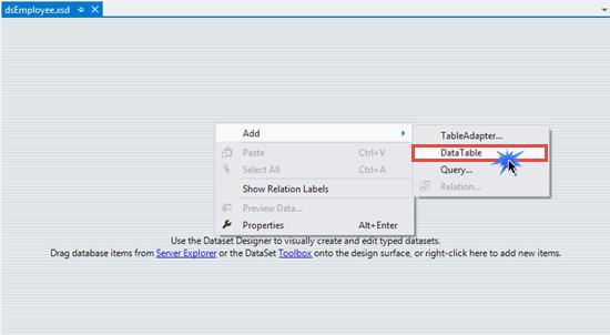 Create RDLC Report using DataSet in ASP NET Website ~ IT Tutorials