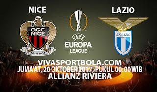 Prediksi Nice vs Lazio 20 Oktober 2017