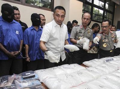 Meth bust, Indonesia