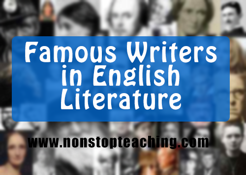 Famous Writers in English Literature