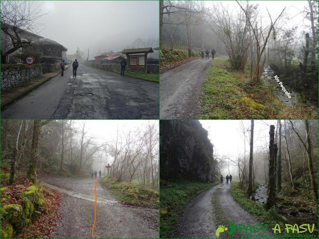 Senda del Chorrón y Foz del Río Valle: Camino al Area de Villamayor