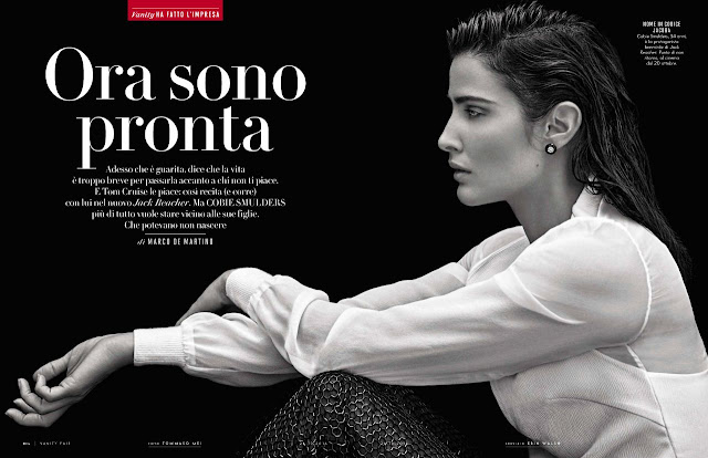 Actress, Model, @ Cobie Smulders - Vanity Fair Italy October 2016
