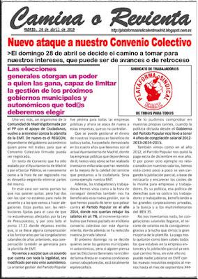 COMUNICADO DEL DÍA 24 DE ABRIL