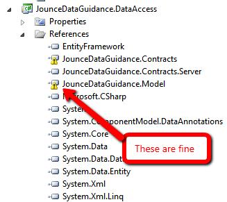 entity framework relationship code first underlying