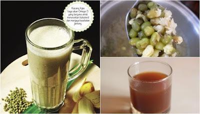 resep cara membuat sari kacang hijau enak