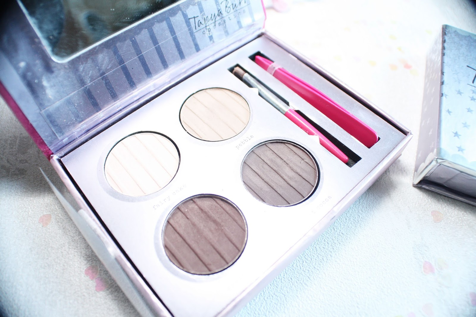 lebellelavie - Trying out some Tanya Burr Cosmetics palettes