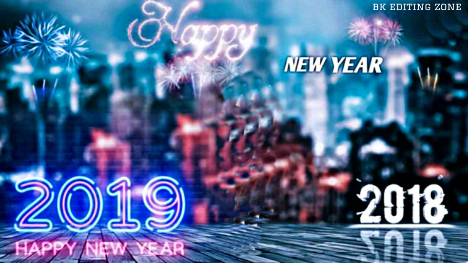 Happy New Year 2019 Backgrounds Bk Editing Zone