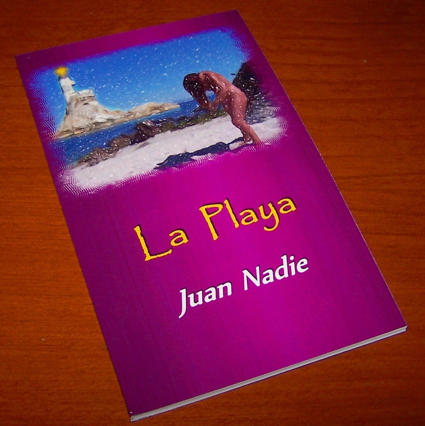 http://www.lulu.com/shop/juan-nadie/la-playa/paperback/product-21635518.html