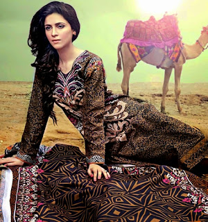 GulAhmed Khaddar Winter Collection 2014/2015