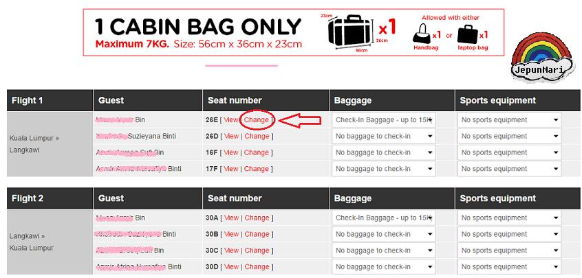 Macam mana nak check-in flight di Web Air Asia