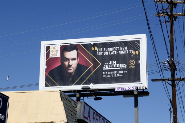 Jim Jeffries Show 2018 Emmy fyc billboard