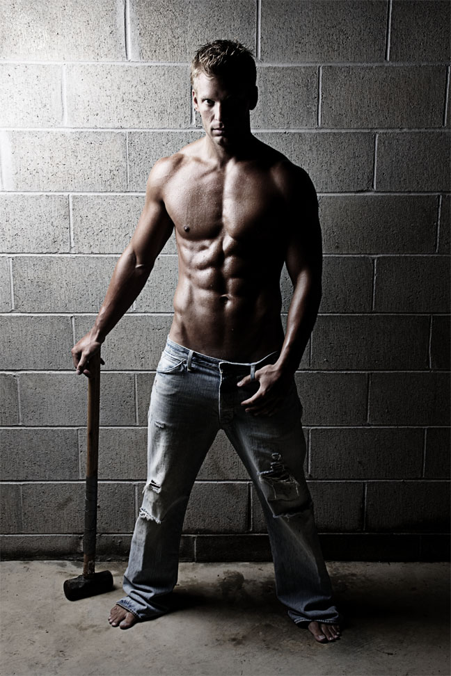 Sixpackhunks: Hunk in jeans (part one)