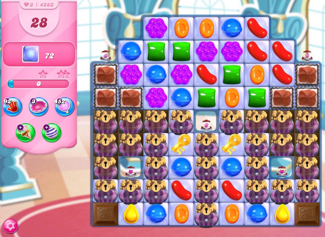 Candy Crush Saga level 4283