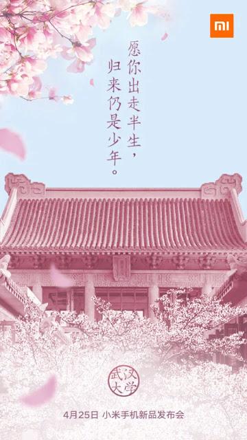 Xiaomi Mengonfirmasi Acara Peluncuran Ponsel Baru 25 April, Mungkin Xiaomi Mi 6X