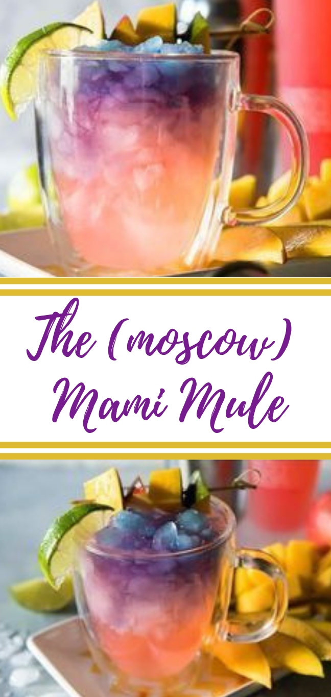 THE MAUI MOSCOW MULE #drink #moscow