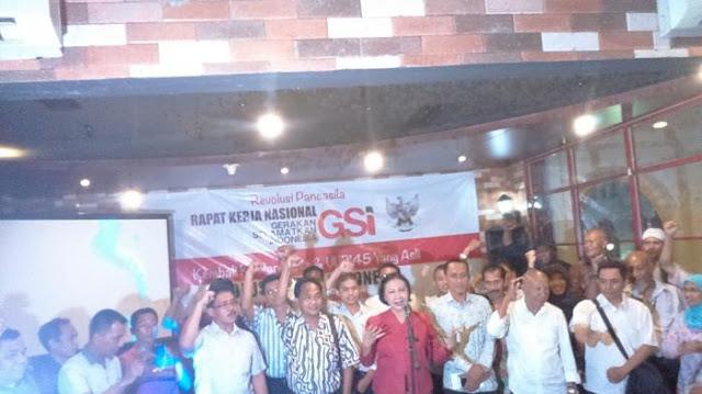 GSI Pimpinan Ratna Sarumpaet Dukung Prabowo-Sandi