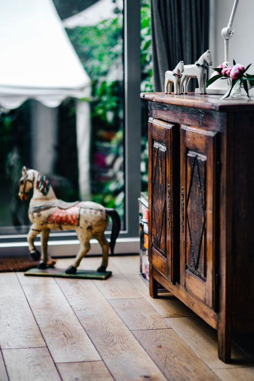 styl holenderski salon