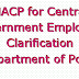MACP for Central Government Employee- Clarification- Department of Posts