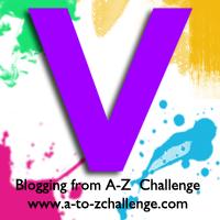 V is for Violet #AtoZChallenge