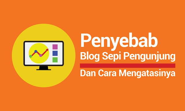 penyebab blog sepi pengunjung dan cara mengatasinya
