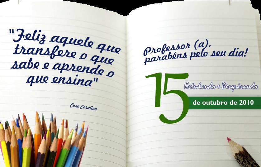 Mensagem Para Os Professores Do Ministério Infantil: ESTUDANDO E PESQUISANDO: Dia 15 De Outubro