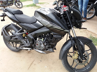 New 2017 Bajaj Pulsar NS160 Fuel tank